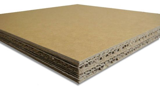 MATREC code: RPAP0086 Panel made of post-consumer recycled paper.