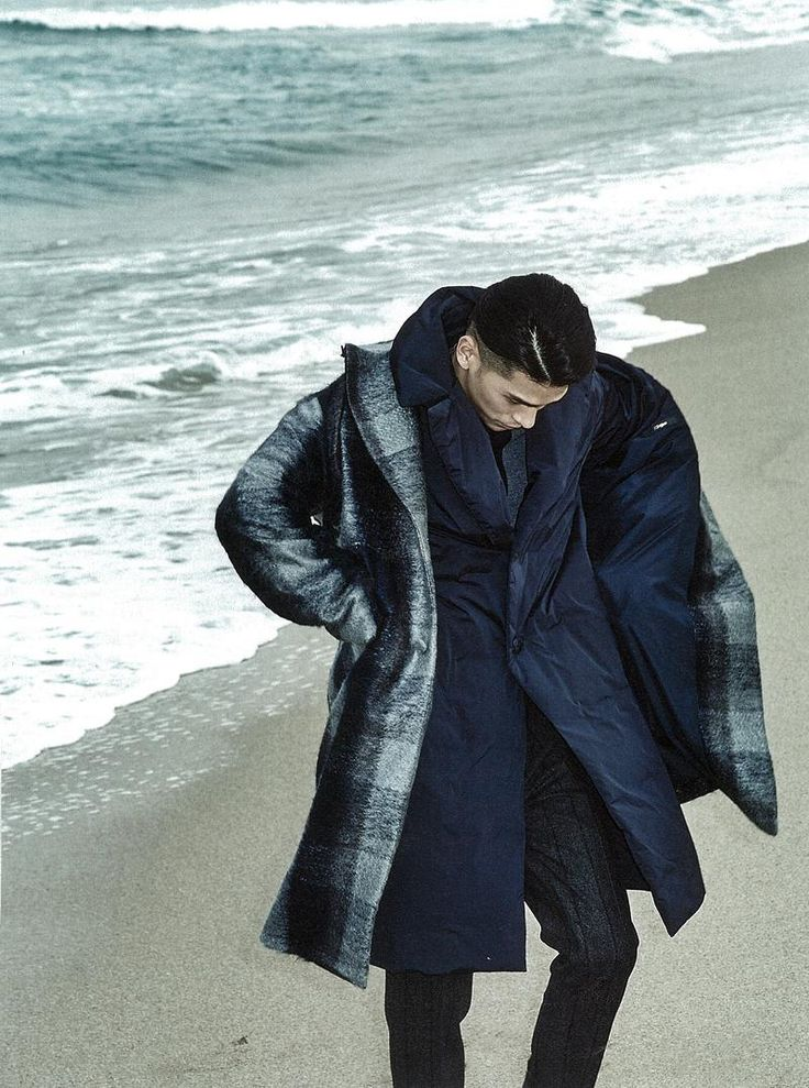 Total look Z Zegna AW14 for Esquire Korea, January 2015