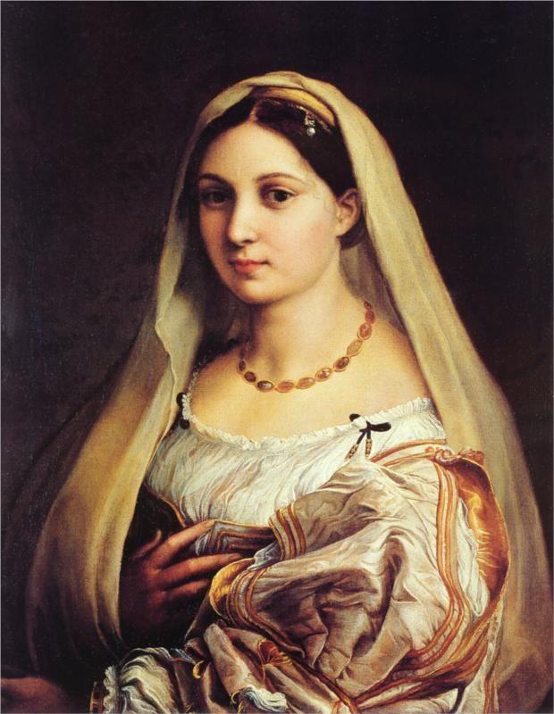 1515-16: Woman with a Veil (La donna velata) Palazzo Pitti, Florence.