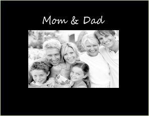 "Mom & Dad 4""x6"" Photo Frame"