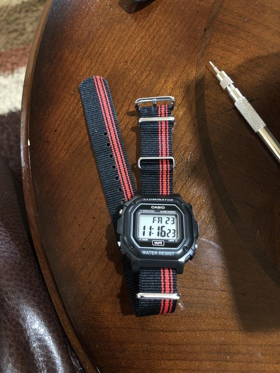 42f6b2a0f798  Casio  On a NATO   Watches