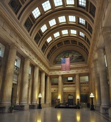Cleveland City Hall rotunda