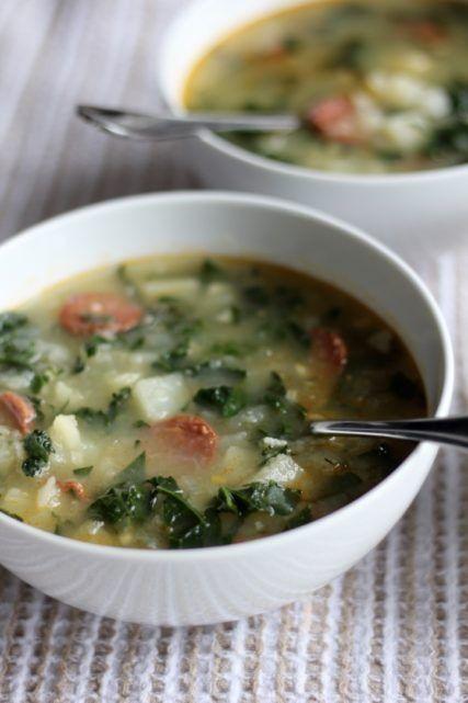 Caldo Verde Portuguese Soup (Gluten-Free, Paleo)