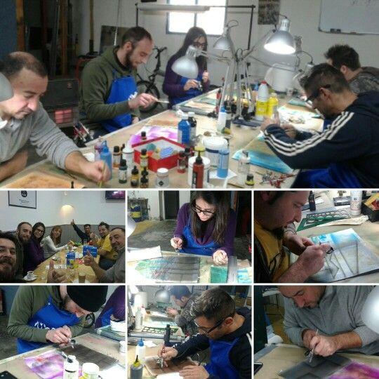 Cursos de Inicicación a la Aerografía en Air Custom Paint Studio en Getafe, Madrid