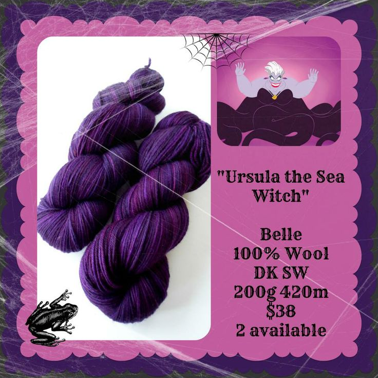 Ursula the Sea Witch - Which Witch? | Red Riding Hood Yarns