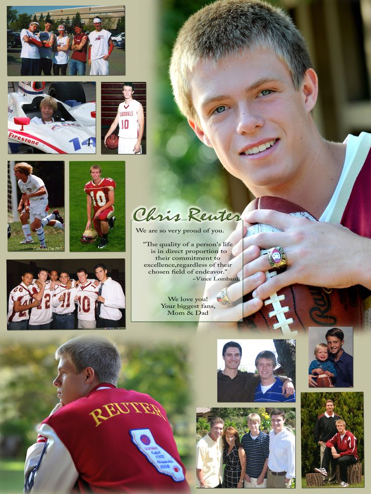 78 best yearbook senior ad ideas images on pinterest for High school football program template