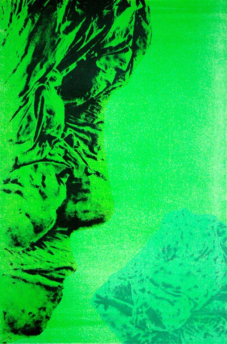 Katri Ikävalko, Nausea, 93 x 61, Stone Lithography / The Art of Basware 2015