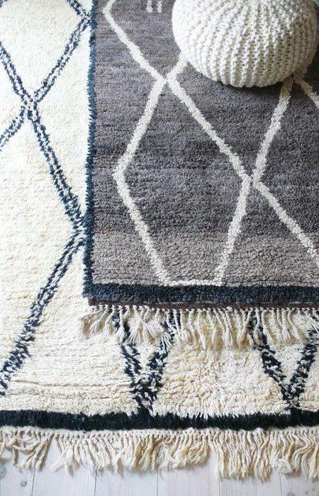 Características y estilo de las alfombras marroquíes más representativas: Boucherouites y Beni Ouarain