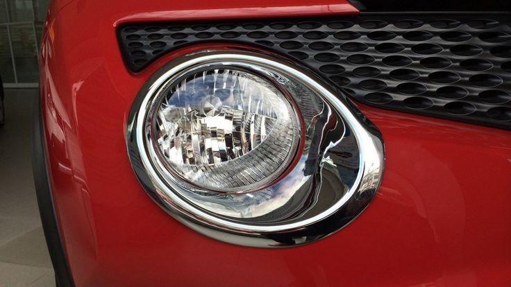 Amazon.com: Chrome Head Lamp Light Cover Front Trim Car Vehicle For Nissan Juke 4 Door Hatchback 2010 2011 2012 2013 2014 2015: Automotive