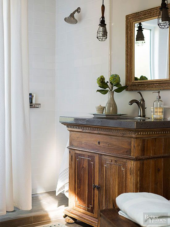 29 Best Images About Farmhouse Rustic Bathroom Ideas On Pinterest Shower Doors Industrial And