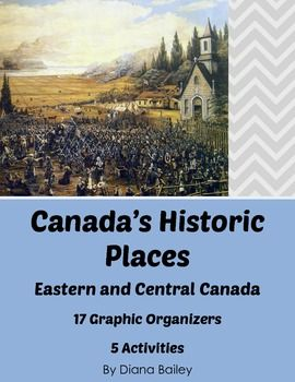 Canadian History and Geography - 17 Graphic Organizers, 5