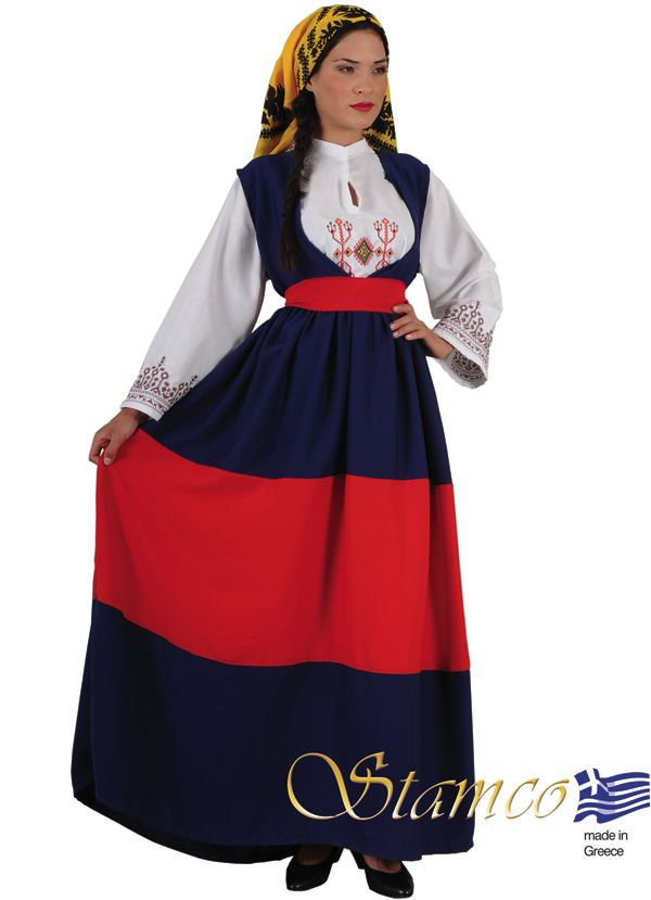 peloponese Mani folk costume