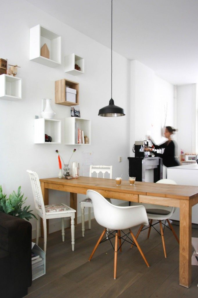 Kitchen wall box shelves. Homes With Heart: Nordic Simplicity Meets Lighthearted Dutch Design