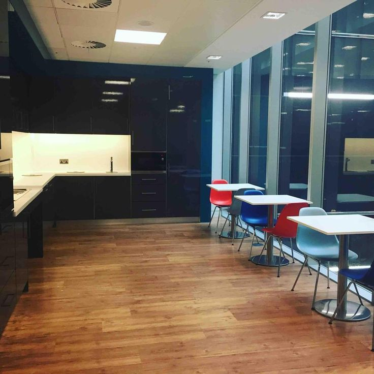 Saffery Champness - tea points with Billi Quadra at their offices located at Victoria Street.