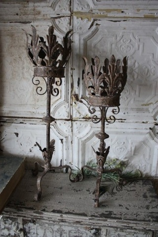 Things of beauty, because you never know what you might find on a salvage hunt : )