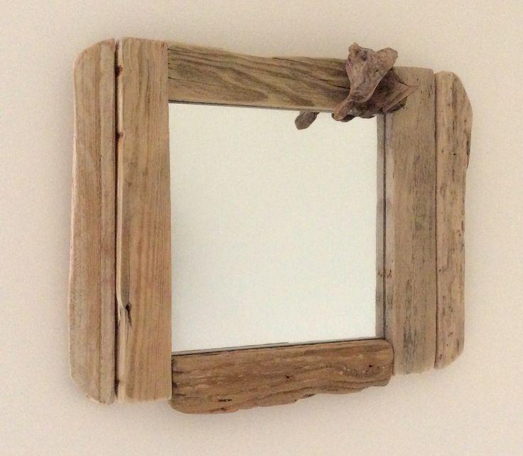Les 25 meilleures id es concernant miroir en bois flott - Miroir en bois flotte ...