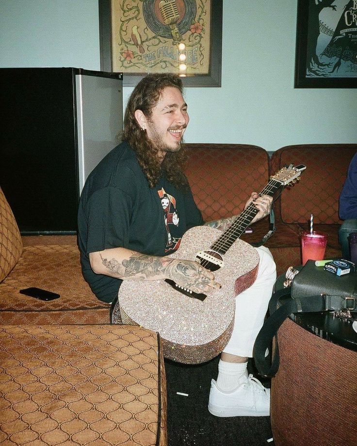 Post Malone Bangs: 27 Best POST MALONE Images On Pinterest