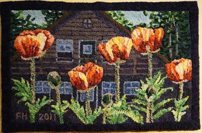 139 Best Rug Hooking Landscapes Images On Pinterest Wool