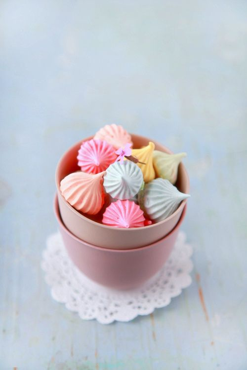 "simplypix: "" colorful meringues """