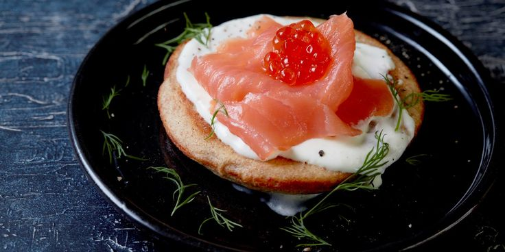 Steven Doherty's smoked salmon blinis recipe is perfect served as an individual starter – a fluffy, yeasted pancake topped with the classic…