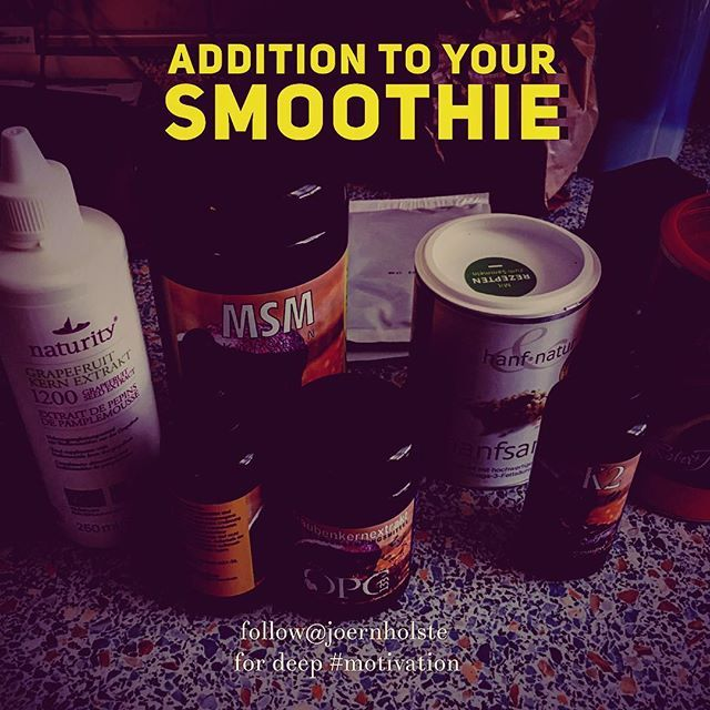 What's in your Super Drink? Let's summarize. Opc grapeseed..