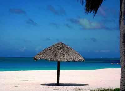 Typical Aruba Beach