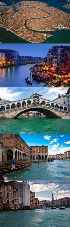 Гранд-канал, Венеция, Италия - Путешествуем вместе
