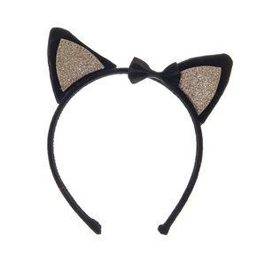 Kids Black Cat Ears Headband,