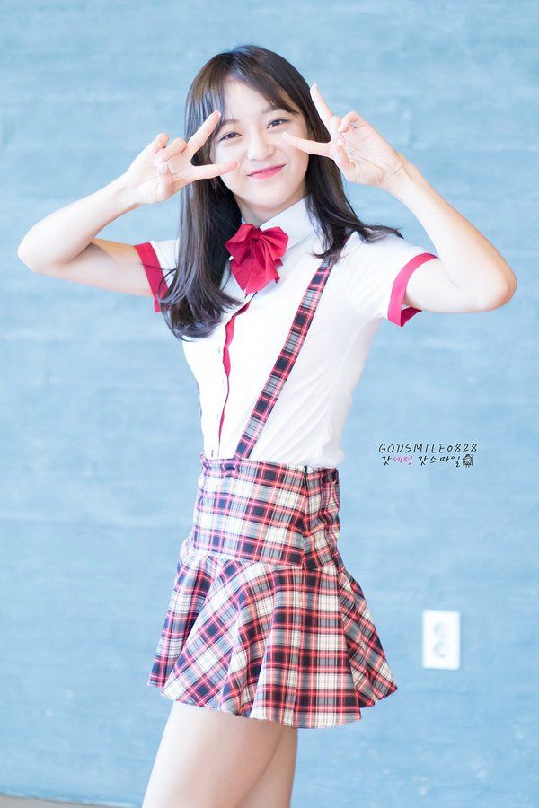 Happy birthday to IOI's and Gugudan's Sejeong Birthday: August 28, 1996 American age: 20 International age: 21