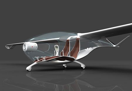 Roland Cernat's Oriens Glider is one stunning energy efficient glider while also being environment friendly. The design won the Lucky Strike Designer Competition for being innovative in re-envisioning the life-cycle of the airplane. The glider is constructed entirely out of recyclable materials. The design is sleek as it is translucent shell finished with glossy organic contours and runs on clean energy. The wings are made of photovoltaic cells which provide an emission free flight, it has…