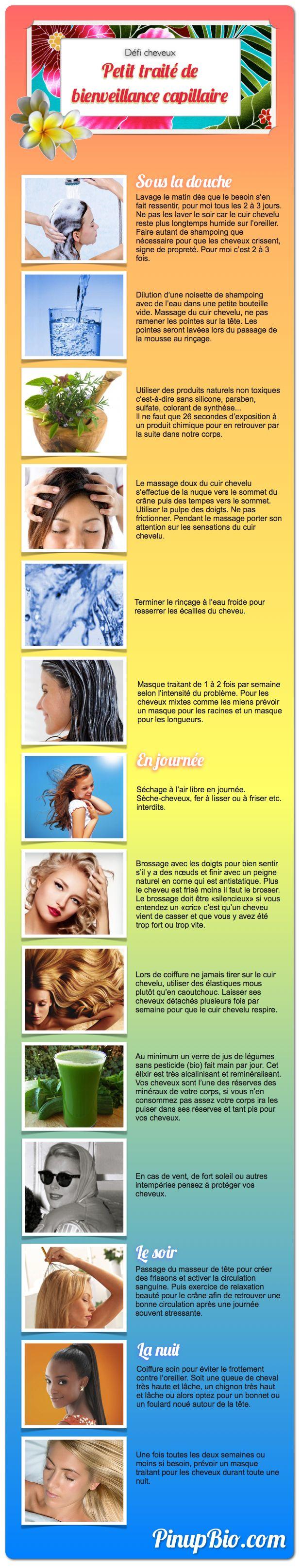 Protocole de soins cheveux au naturel
