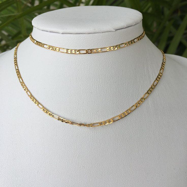 Betty bones — 18K Gold Filled Chain Choker