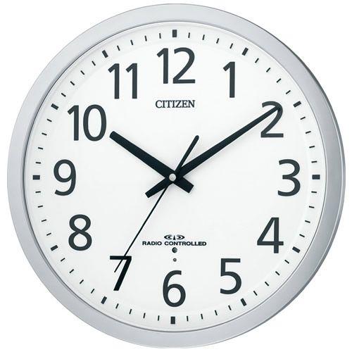 CITIZEN CLOCK 掛時計 8MY462-019 neel シチズン CITIZEN 電波クロック 掛け時計 電波時計 オフィスタイプ スペイシーM462 8MY462-019【正規