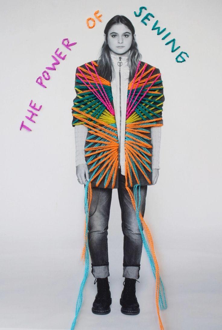Original Work - Victoria Villasana in 2020 | Embroidered ...