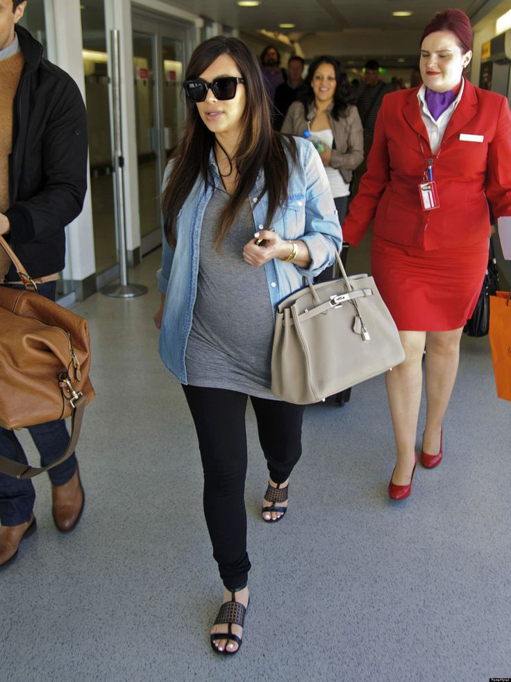 Kim Kardashian's Maternity Style - see how you can copy this laid-back look!