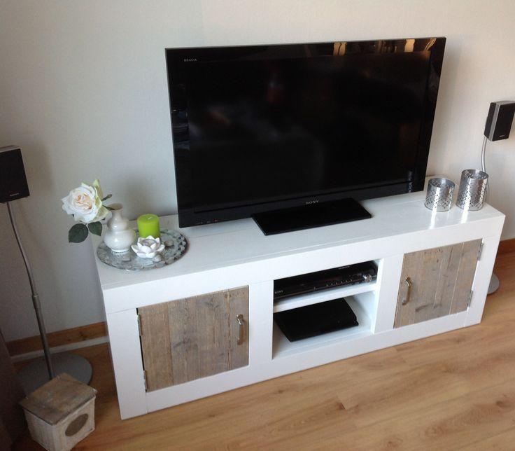 Landelijke tv meubel steigerhout #homemade