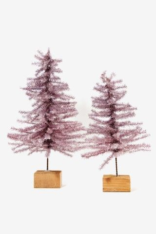 Metallic Tinsel Tree Set, Deck the halls with this cute gift from Keep!