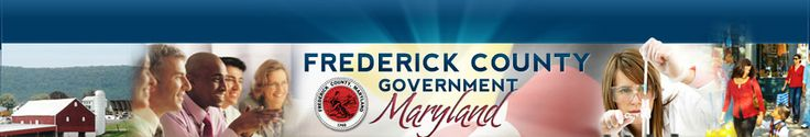Frederick County Board of Elections  site has a link to list of candidates with each website linked