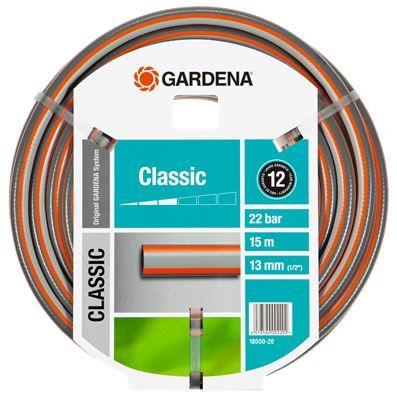 Gardena classic tömlő, 15m hosszúsággal.  http://www.gardenaweben.hu/ontozes/locsolotomlo/gardena-classic-tomlo-1-2-15-m-18000-20