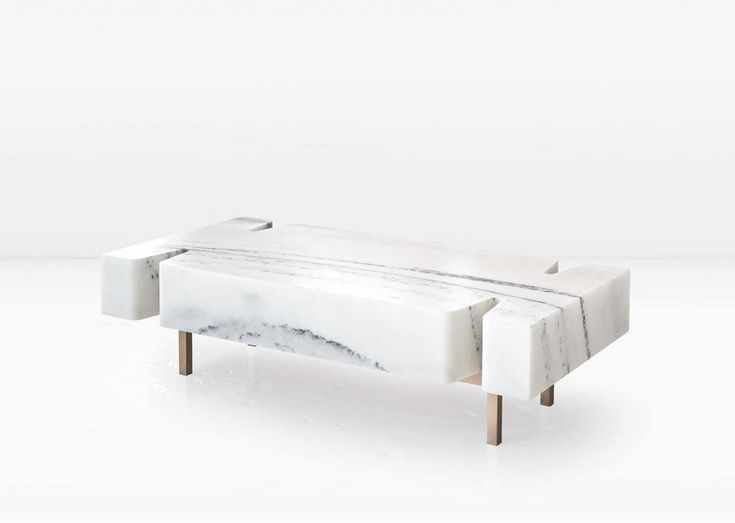 Monolithic Terranova Coffee Table From A Marble Block   DigsDigs
