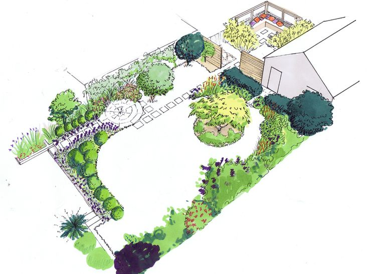 A small family garden