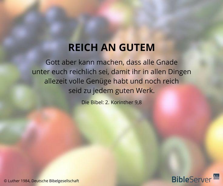 Reich an Gutem | Lies den Bibelvers im Kontext auf # ...