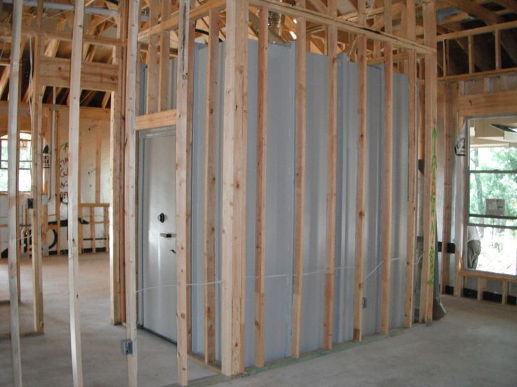 25 best ideas about safe room on pinterest hidden rooms for Vault room construction