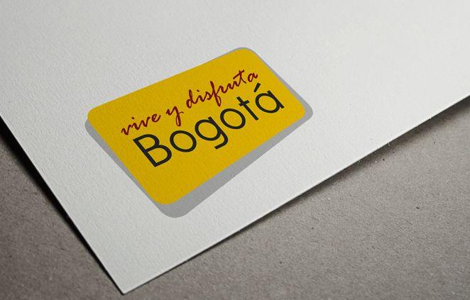 Diseño de Logo - Vive y Disfruta Bogotá