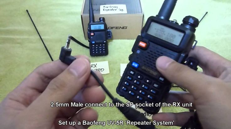Make a repeater with four HT radios, works with any radios, not just UV-5R's