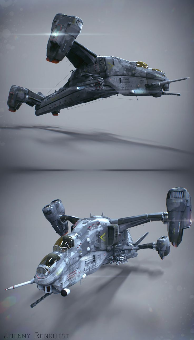 Final 3D Model for Star Citizen's Contest, render by me, modeling by Eric…