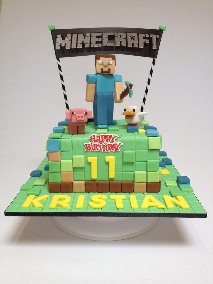 261 best Cakes etc images on Pinterest Desserts Minecraft party