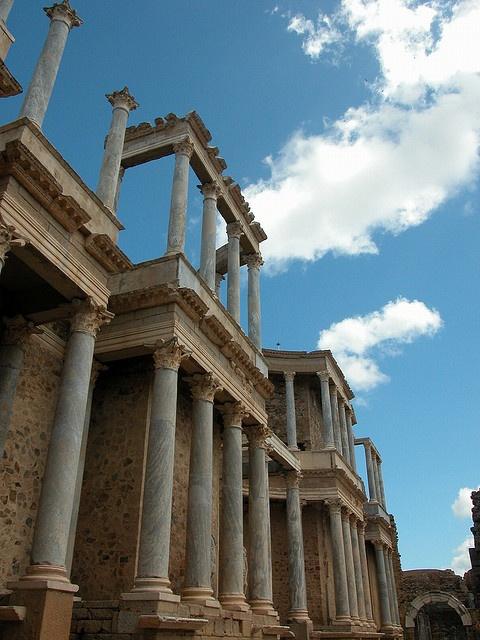 Roman Theatre in Mérida, Extremadura, Spain