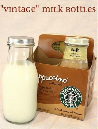 How To Decorate Starbucks Glass Bottles