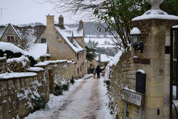 Winter in the Cotswold